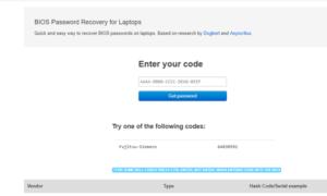 Cómo recuperar o establecer una contraseña de BIOS o UEFI para equipos con Windows