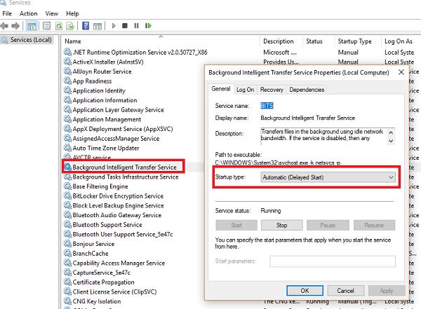 Corregir error de Windows Update 0x80072EE2