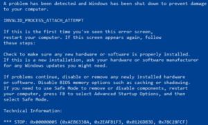 Cómo corregir un error de SYNTP.SYS Blue Screen en Windows 10