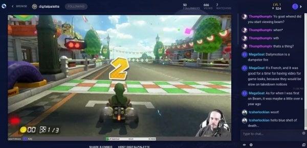 Cómo ver las transmisiones en directo de Beam en Xbox One