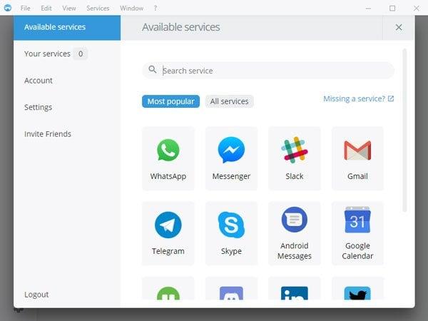 Los mejores clientes de Facebook Messenger para Windows 10