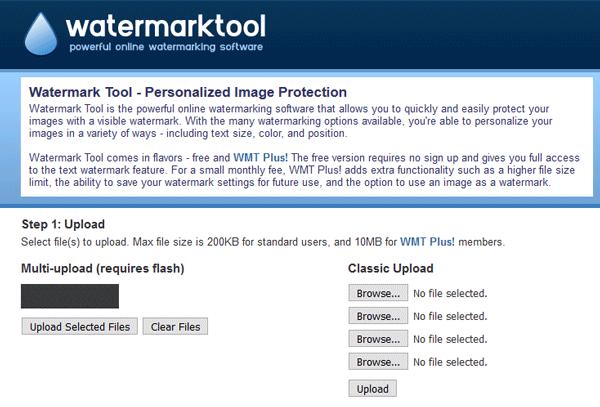 Las mejores herramientas para añadir marca de agua a la imagen en línea gratis 5