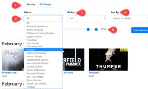 Las mejores herramientas para encontrar categorías secretas de Netflix, películas y programas de TV