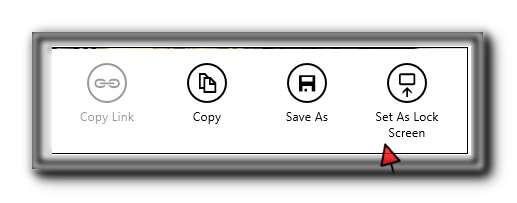 Establecer la imagen de la página de inicio de Bing como fondo de pantalla de bloqueo en Windows 8