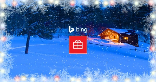Bing inaugura la temporada navideña con tarjetas de felicitación personalizadas y mucho más.