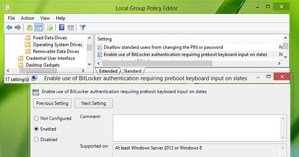 Corrección: La clave de recuperación no se pudo guardar en este error de ubicación para BitLocker