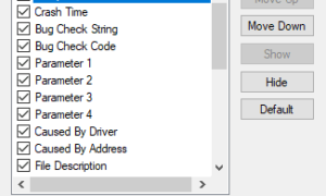 Cómo usar BlueScreenView en Windows 10