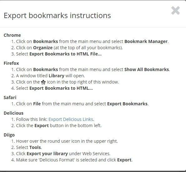 Bookmark OS es una gran manera de organizar tus favoritos del navegador