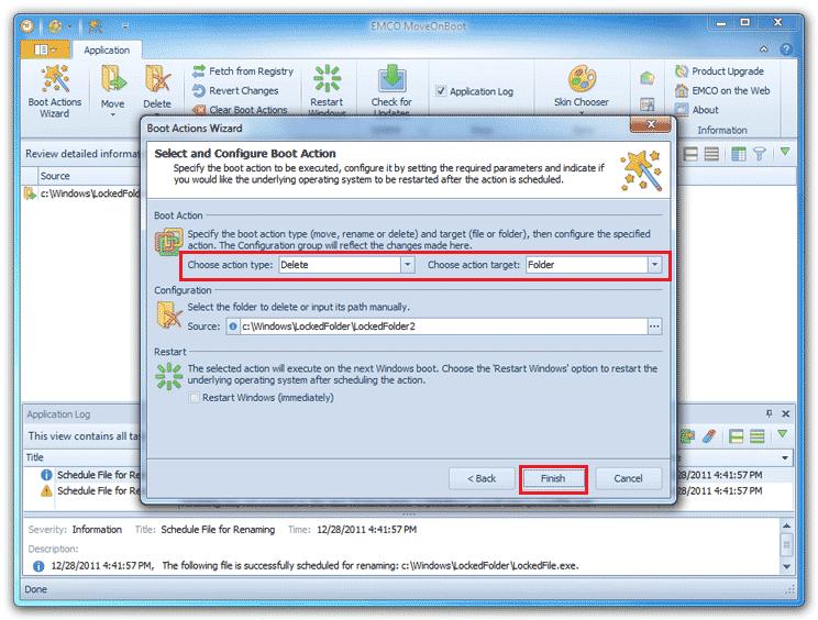 Software Free File Deleter para eliminar archivos y carpetas bloqueados en un PC con Windows 10/8/7 3