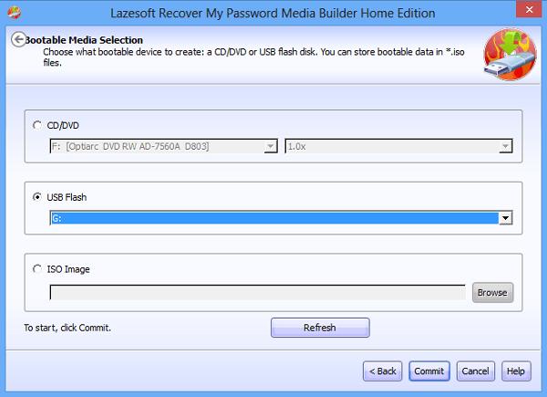 Restablecer la contraseña de Windows con Recuperar mi contraseña Home Free