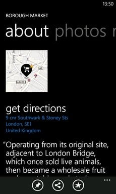 Nuevas aplicaciones de Windows Phone esta semana: Bing Photosynth, Nokia Trailers y Nokia Maps 2.0