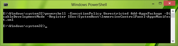 Corregido: Enlace de cambio de configuración de PC roto después de la actualización a Windows 8.1