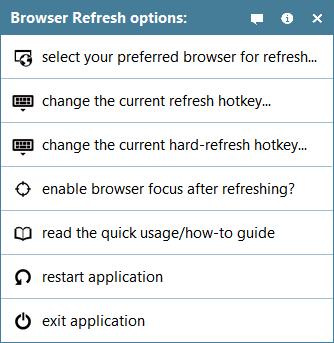 Actualizar la caché del navegador de varios navegadores al instante con Browser Refresh