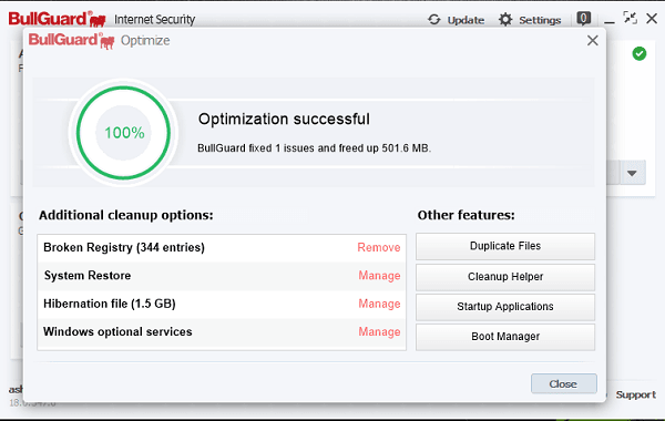 Revisión de seguridad en Internet de BullGuard: Protección completa para Windows 15