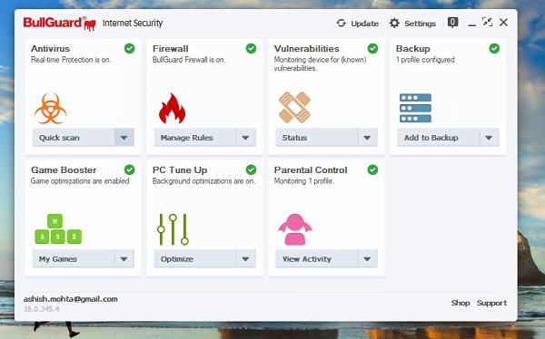 Revisión de seguridad en Internet de BullGuard: Protección completa para Windows 1