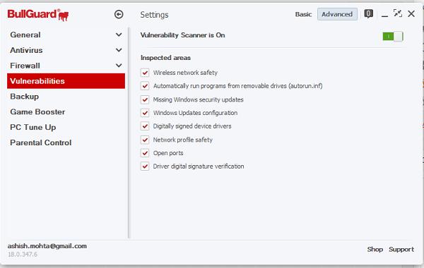 Revisión de seguridad en Internet de BullGuard: Protección completa para Windows 12