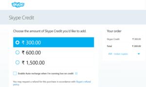 No puedo hacer una llamada incluso después de comprar crédito de Skype