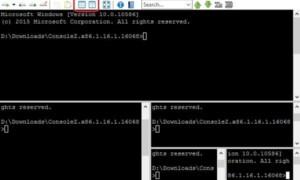 ConsoleZ es una herramienta de mejora del símbolo del sistema para Windows