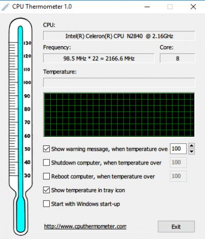 El mejor software gratuito de monitor de temperatura de la CPU y Checker para PC con Windows 2