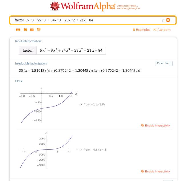Cómo usar el motor de conocimiento Wolfram Alpha 2