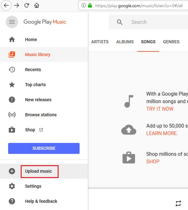 No se puede establecer una conexión segura - Google Play Music
