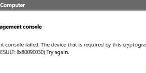 No se puede cargar la consola de administración en Windows 10