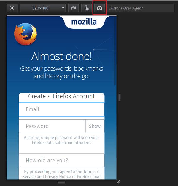 Cómo tomar capturas de pantalla en el navegador Chrome o Firefox sin usar software de terceros