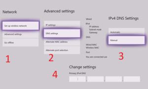 Cómo cambiar la configuración del servidor DNS en Xbox One para que sea más rápido