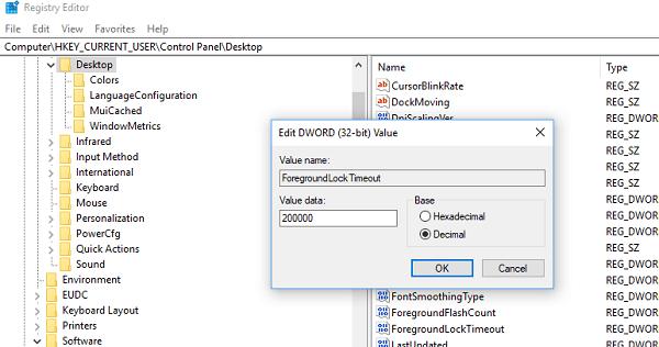 No se puede cambiar entre Programas en la barra de tareas en Windows 10