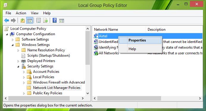 Formas de cambiar el estado de la red de público a privado en Windows 4