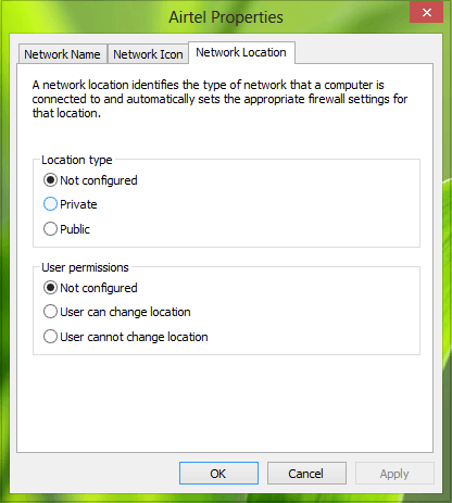 Formas de cambiar el estado de la red de público a privado en Windows 5