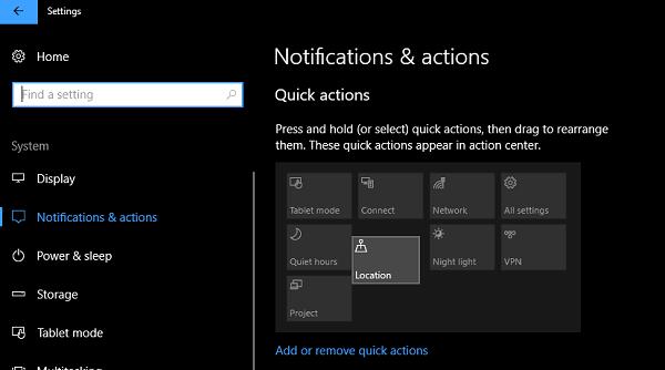 Cómo personalizar el Centro de notificaciones y acciones en Windows 10 4
