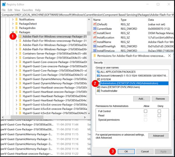 Cómo desinstalar y eliminar completamente Adobe Flash Player de Windows 10 3