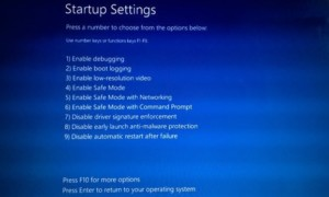 Opciones avanzadas de inicio en Windows 10. Cambiar los valores predeterminados de arranque cuando se realiza un arranque dual.