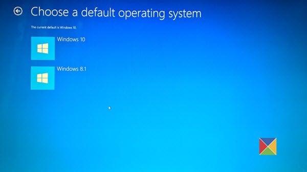 Opciones Avanzadas De Inicio En Windows 10 Cambiar Los Valores Predeterminados De Arranque Cuando Se Realiza Un Arranque Dual