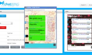 Charlando: Aplicación de chat gratis y widget de chat en vivo para sitios web