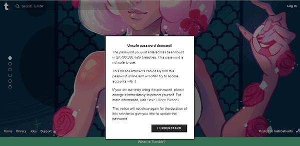 PassProtect se asegura de que no está utilizando contraseñas que ya han sido violadas