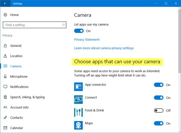 Cómo averiguar qué aplicación está usando la cámara web en Windows 2