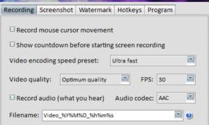 Grabador de pantalla ChrisPC le permite capturar capturas de pantalla, grabar la pantalla y editar vídeo