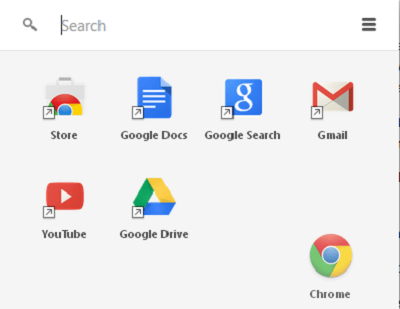 Lanzador de aplicaciones Chrome: Descarga y administra aplicaciones en Chrome 7