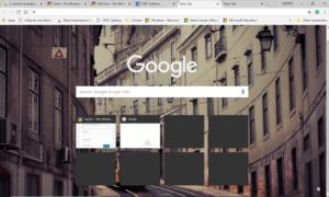 Cambiar el fondo de la página Nueva pestaña en Google Chrome