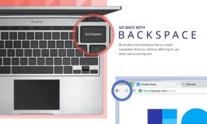 Recuperar el botón Retroceso en el navegador Google Chrome