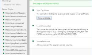 Cómo ver y comprobar los certificados de seguridad en el navegador Chrome
