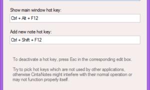 CintaNotes: Software gratuito para tomar notas para Windows 8 / 7