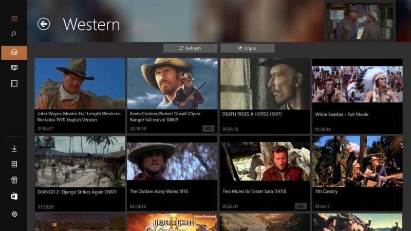 Las mejores aplicaciones de películas gratuitas disponibles en Microsoft Store para Windows 10