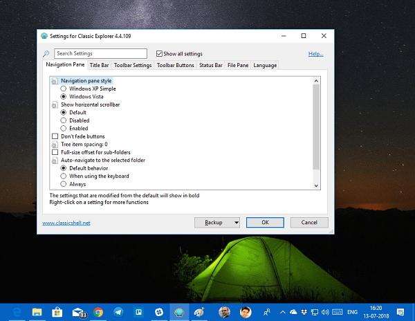 Recuperar el antiguo menú Inicio clásico en Windows 10 con Open Shell