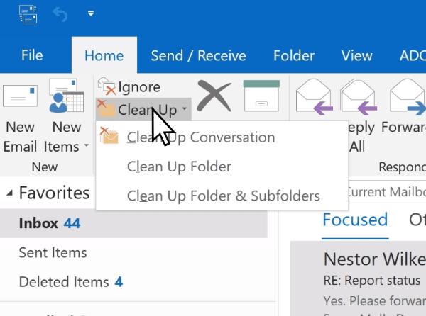 Cómo compactar y reducir el tamaño del buzón de correo en Microsoft Outlook