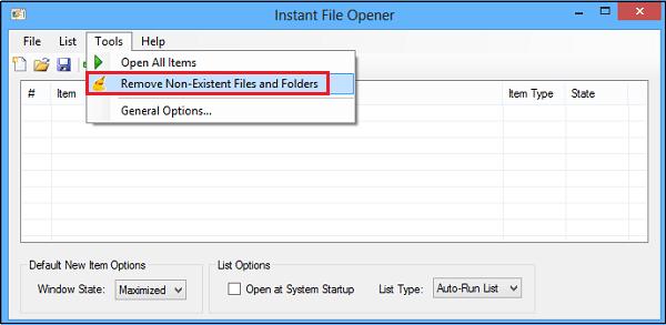 Abridor de archivos instantáneo: Abrir múltiples archivos, carpetas, aplicaciones, URLs rápidamente
