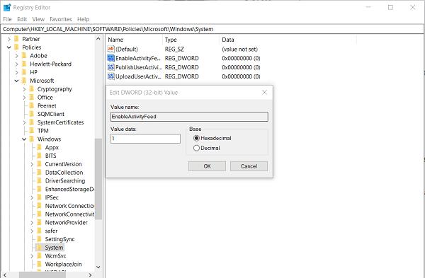 El portapapeles de nube no funciona o no se sincroniza en Windows 10