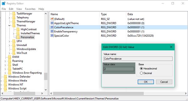 Cómo cambiar el color de la barra de tareas sin cambiar el color de la pantalla de inicio 4